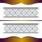 所有细部图要素功能锻件框架高度特殊地实施了增量联接金属原来的向量 免版税图库摄影