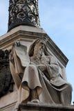 所有immacolata monumento罗马 免版税图库摄影