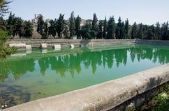 所罗门的水池 库存图片