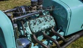 扁平头的引擎 免版税库存照片