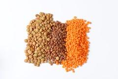 扁豆堆  免版税库存照片