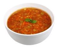 扁豆汤 免版税库存照片