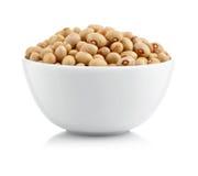 扁豆牌照种子白色 图库摄影
