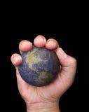 手举行世界 图库摄影