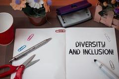 手写文本变化和包括 概念平均值域huanalysis区别包括种族种族性别 图库摄影