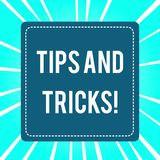 手写文本技巧和把戏 概念意思怎么可能意味片断忠告建议改善 向量例证