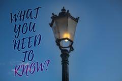 手写文本文字什么您需要认识问题 概念意思教育发展您的知识和技能轻的岗位b 库存图片