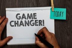 手写文本文字比赛更换者 概念意思体育数据记分员Gamestreams活比分队Admins开放笔记本c 免版税库存照片