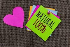 手写文本自然100 意味的概念最低限度地处理和不包含人为味道纸笔记重要关于 库存图片
