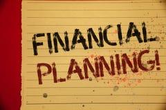 手写文本财政规划诱导电话 概念意思会计计划战略分析醇厚的黄色颜色pa 库存照片