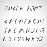 手写的字体,墨水样式 库存照片