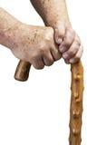 手和棍子 免版税库存照片
