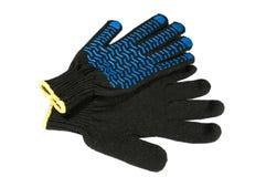 手套安全性 免版税图库摄影