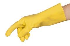 手套现有量 库存图片