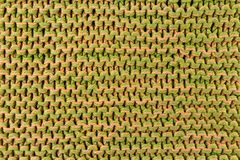 手工制造五颜六色的编织的纹理背景 免版税库存图片