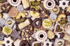 手工制造圣诞节的曲奇饼 免版税图库摄影