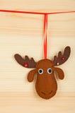 手工制造圣诞节装饰 图库摄影