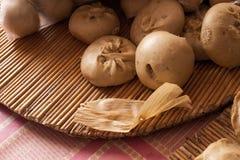 手工制造大中国的饺子 库存照片