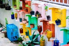 手工制造庭院装饰 免版税图库摄影