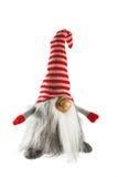 手工制造拖钓形象被隔绝的圣诞节装饰在白色 免版税库存图片