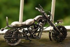 手工制造摩托车 免版税库存照片
