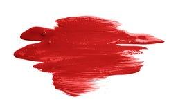手工制造油漆刷子冲程 库存照片