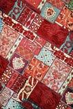 手工制造的地毯 免版税库存图片