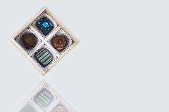 手工制造的巧克力 免版税库存图片