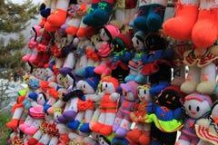 手工制造的玩偶 免版税库存图片