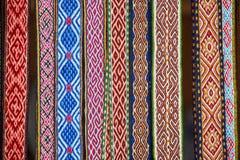 手工制造纺织品书签在复活节市场卖了在维尔纽斯 库存图片