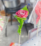 手工制造罗斯的糖 库存图片