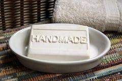 手工制造肥皂 库存图片