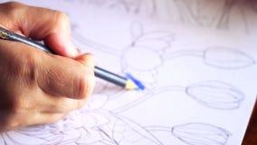 手工制造艺术家 影视素材