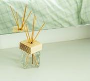 手工制造芦苇清凉剂 库存照片