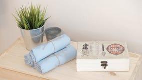 手工制造袋子包装 库存照片