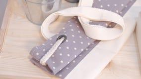 手工制造袋子包装 图库摄影