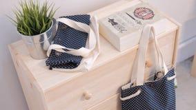手工制造袋子包装 免版税库存图片