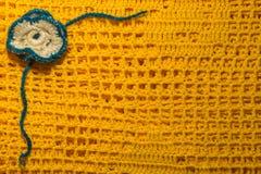 手工制造被编织的一揽子纹理背景 库存照片