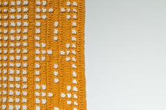 手工制造被编织的一揽子纹理背景 免版税库存图片