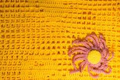 手工制造被编织的一揽子纹理背景 图库摄影