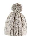 手工制造被编织的帽子 图库摄影