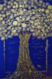 手工制造金钱的树 库存图片