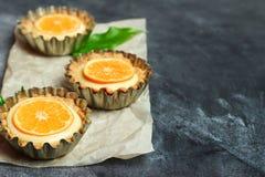手工制造馅饼,果子馅饼用柠檬酱 免版税库存图片