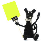 手工制造鼠标指针 免版税库存图片
