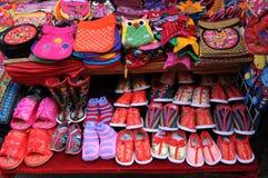 手工制造织品 免版税库存照片