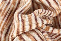 手工编织的毛线衣 图库摄影