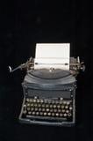 手工老打字机 免版税库存图片