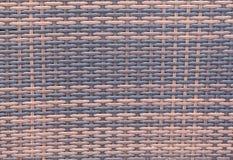 手工造竹织法纹理自然柳条背景 免版税库存照片