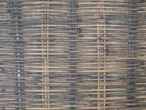 手工造竹织法纹理 图库摄影