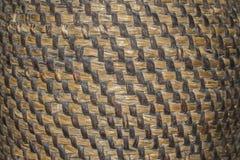 手工造织法纹理自然柳条,纹理篮子,自然 库存图片